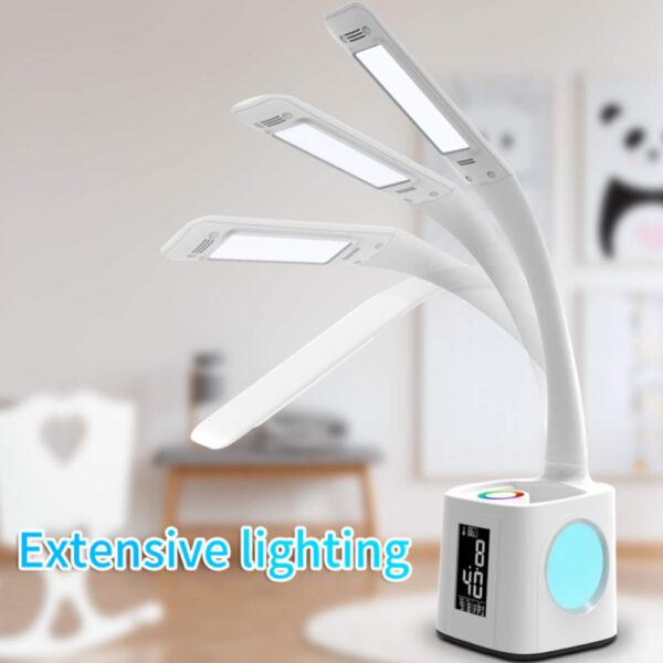 Multifunctional LED Dimmable Desk Lamp with Charging Port_3