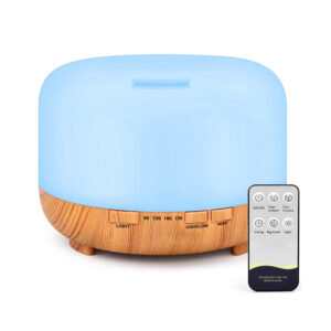 Aroma Therapy Scent Diffuser Humidifier and LED Night Light_0