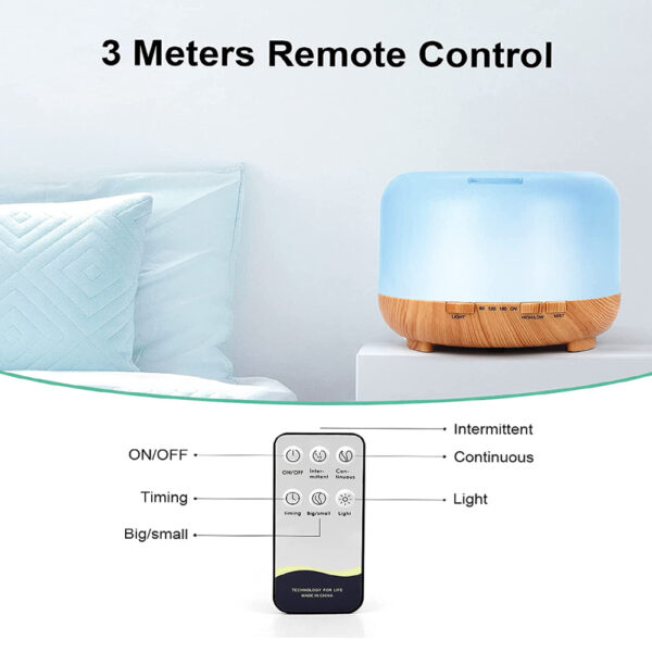 Aroma Therapy Scent Diffuser Humidifier and LED Night Light_9