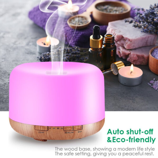 Aroma Therapy Scent Diffuser Humidifier and LED Night Light_3