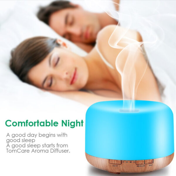 Aroma Therapy Scent Diffuser Humidifier and LED Night Light_4