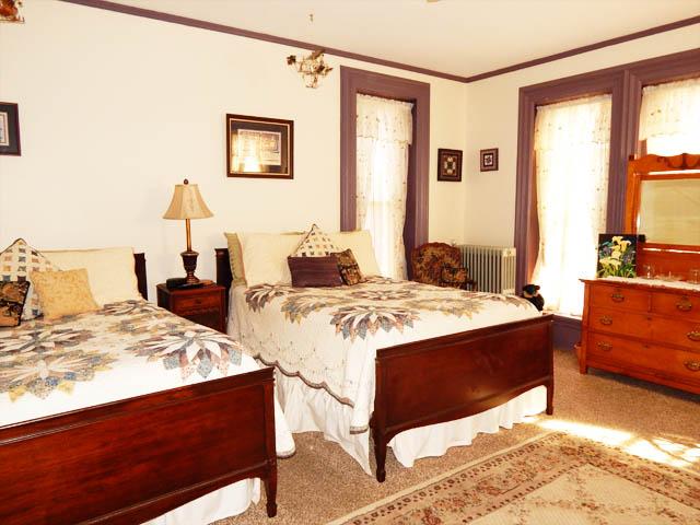 Nursery Beds and dresser