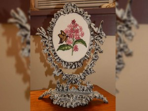 Embroidery in Frame