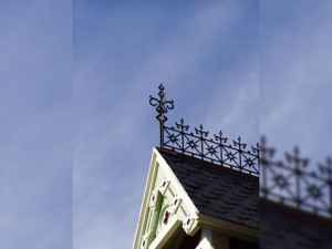 Ironwork on Roof
