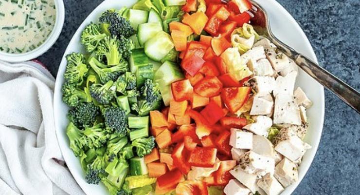 Chopped Tahini Salad