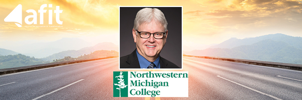 Timothy J. Nelson, president emeritus for Northwestern Michigan College, is a 2021 AFIT Learning Partner.