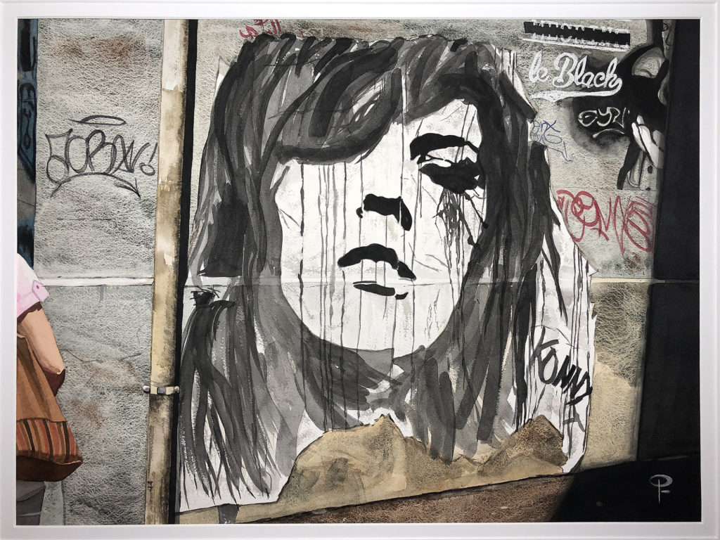 Paula Fiebich - Paris Graffiti