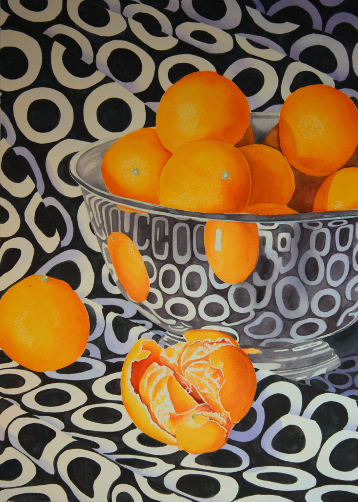 Judy Thurston - Mandrain Oranges