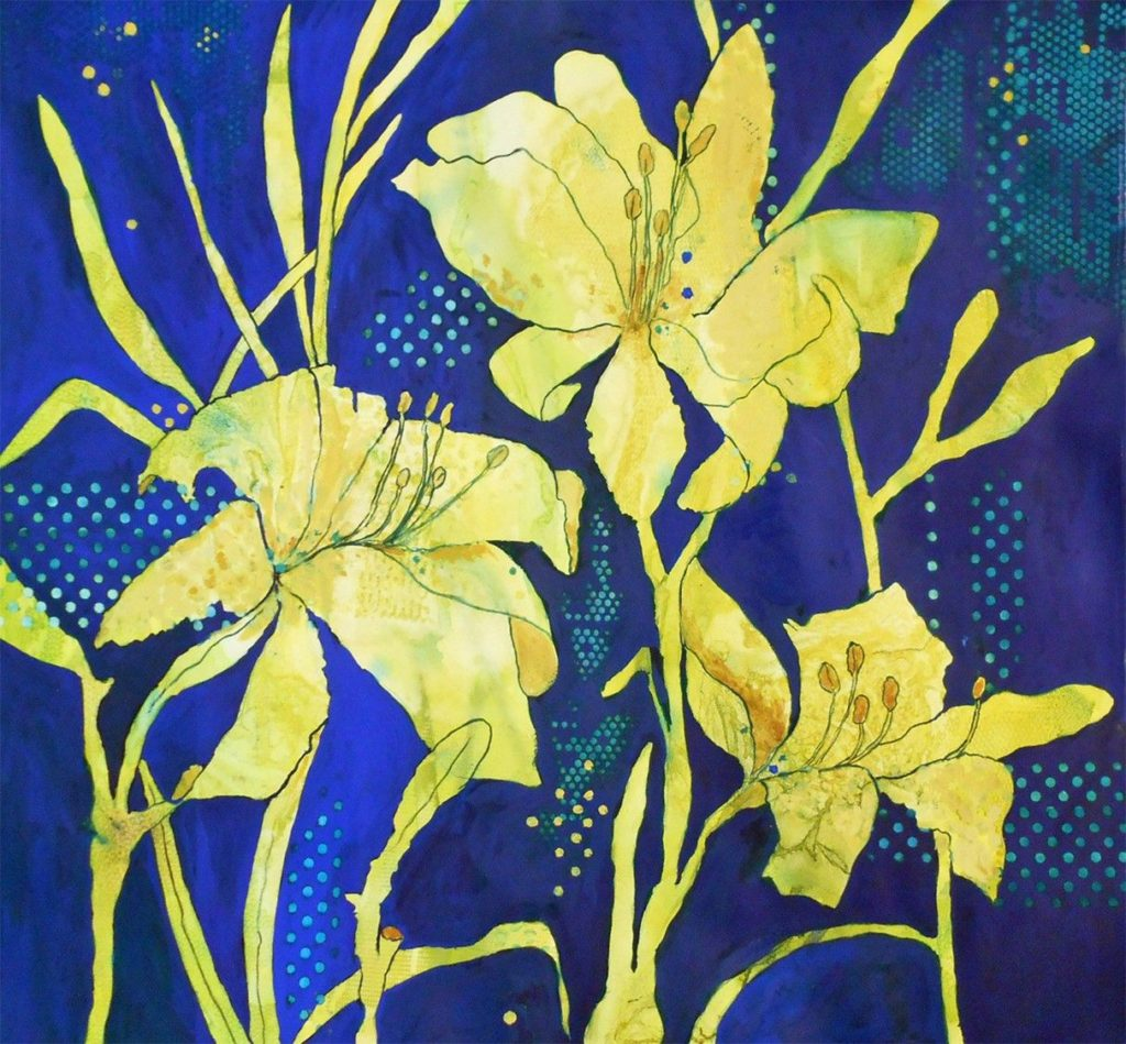 Jan Brown - Lilies of the Evening