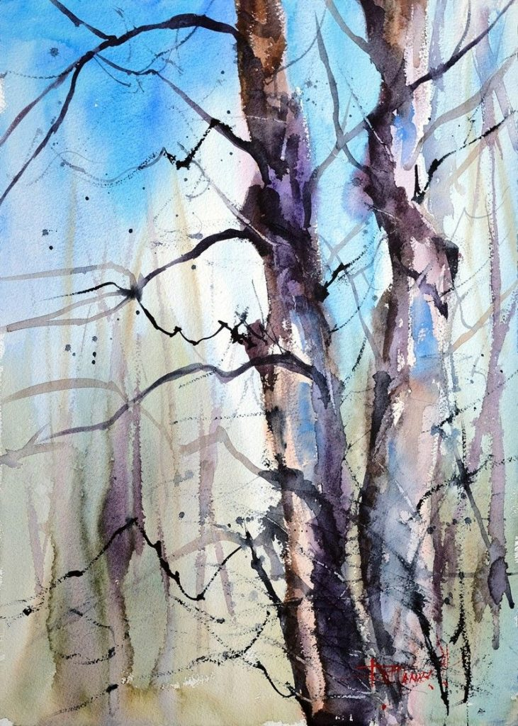 Ruth Forman - Old Maple