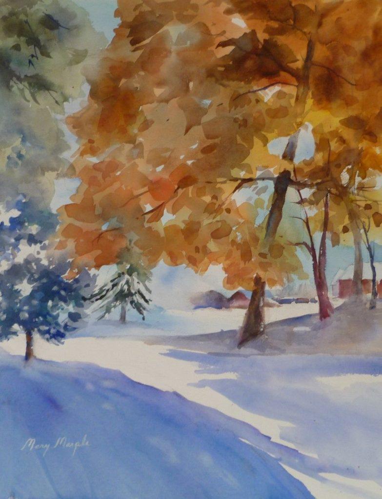 Mary Marple - First Snow