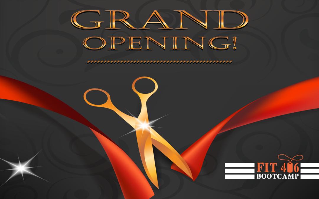 Grand Opening Sept 14, 2019