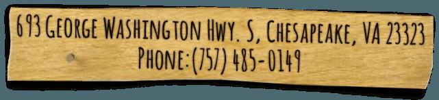 693 George Washington HWY. S, Chesapeake, VA 23323