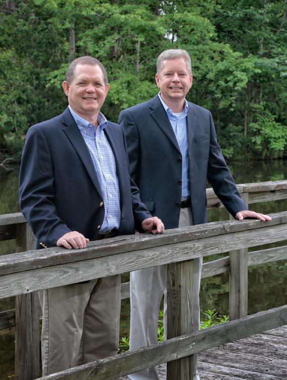 David Bland and Leo Parrish