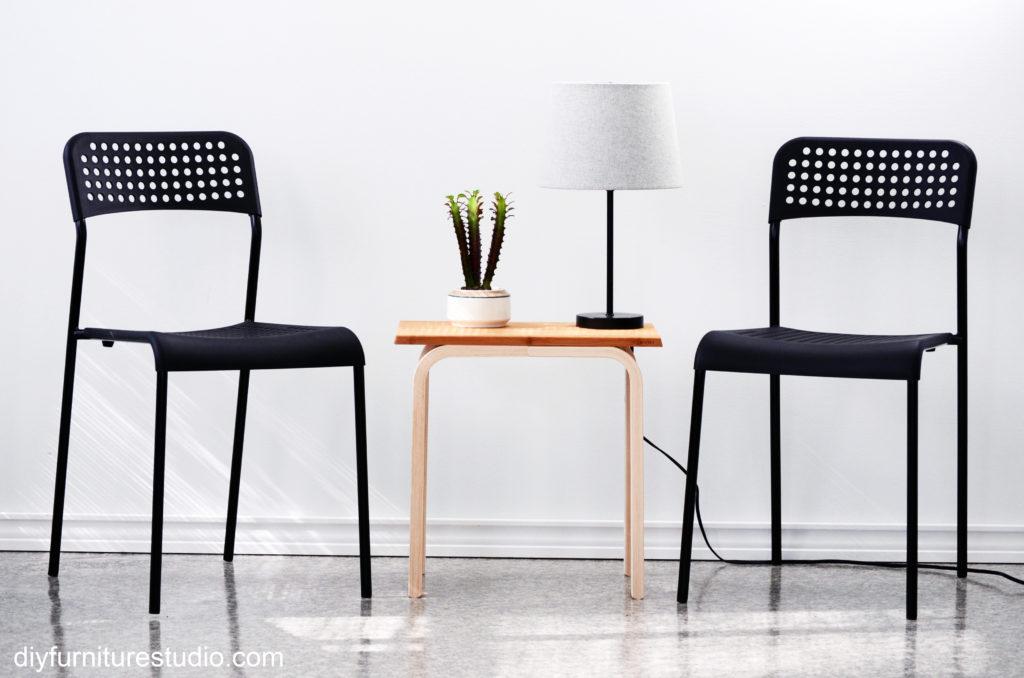 Frosta and Aptitlig IKEA Hack side table tutorial