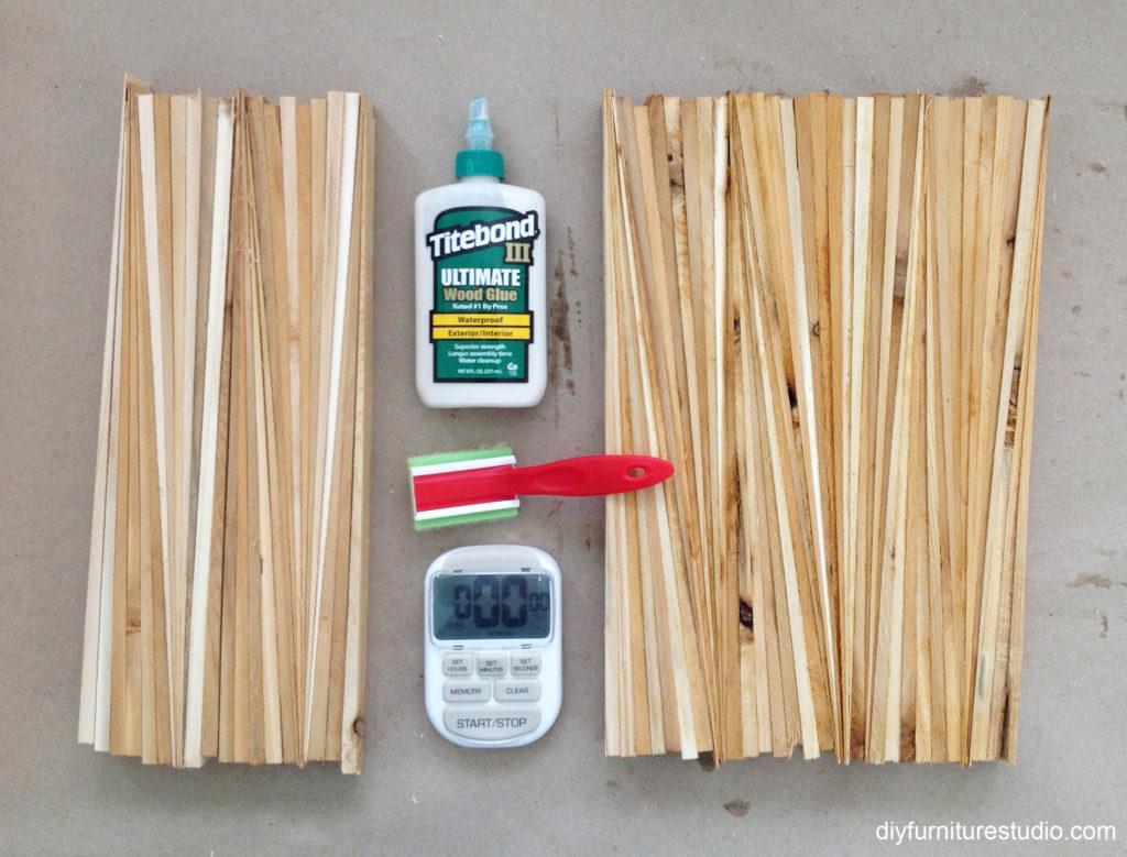 wood wall art supplies