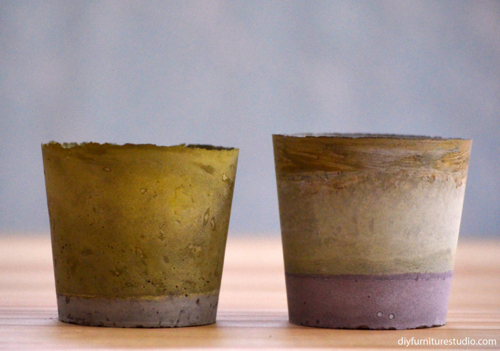 DIY concrete and cement gift ideas.
