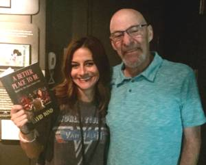 at the Rock & Roll Hall of Fame with Rachel Steele