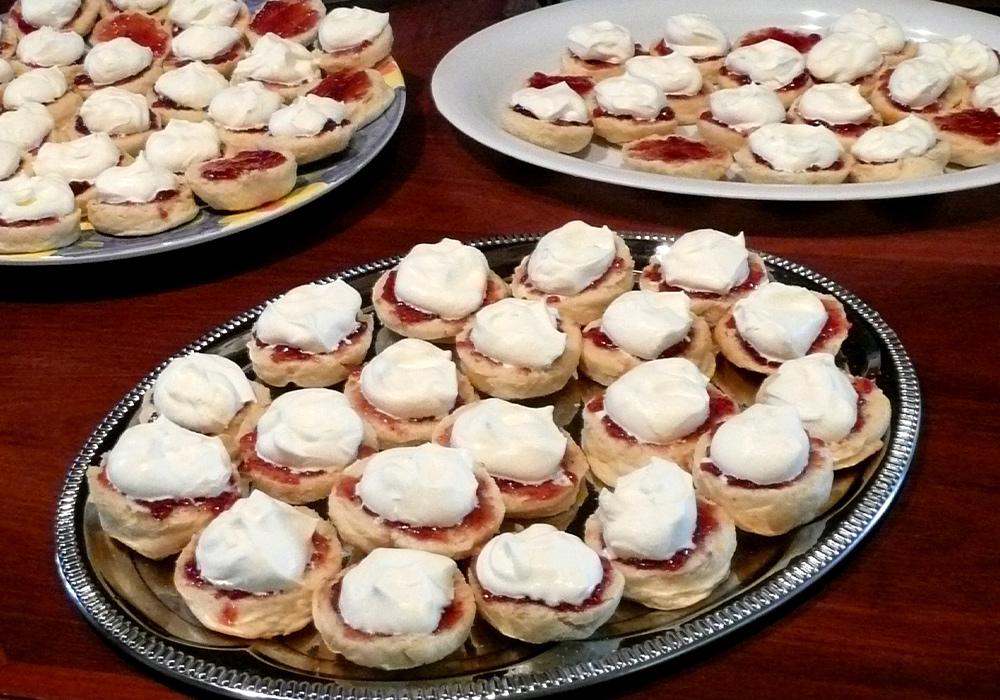 scones, catering