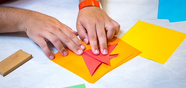 Paper-folding fun