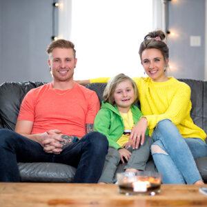 Susan Kegal family sitting