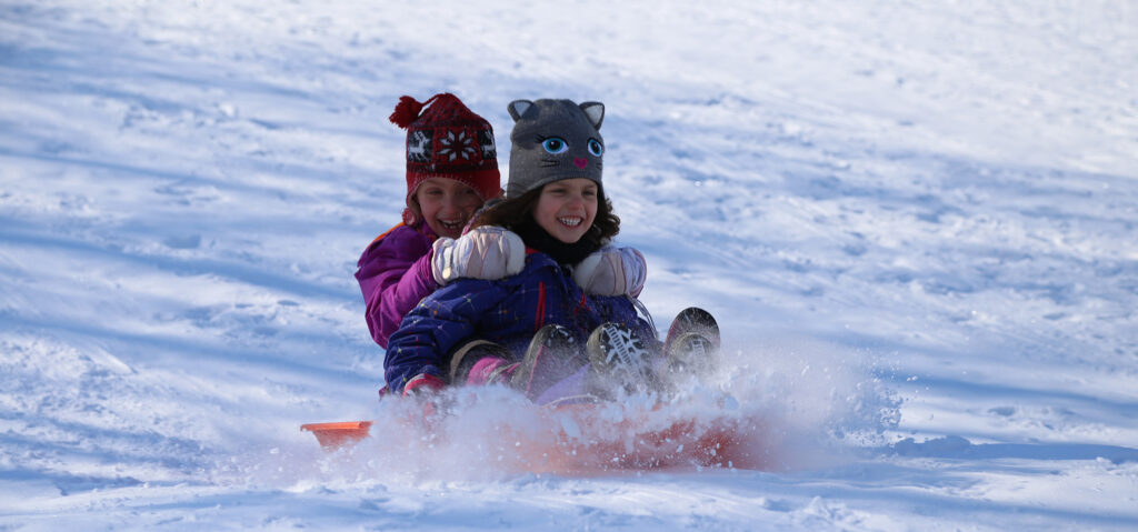mount pleasant sledding