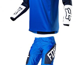 FOX 180 REVN BLUE MX GEAR SET
