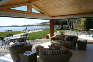 Lakefront home renovations and high end remodels - Creekside Companies