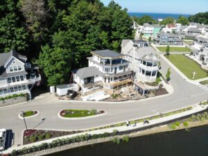 Custom home builder along the West Michigan shore - contact Creekside Companies