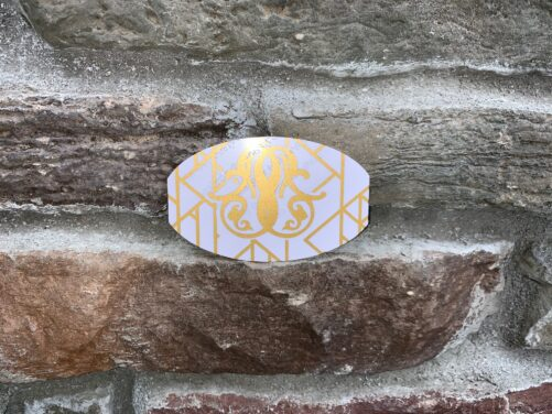 Gold and Pearl Slyde UV Spot