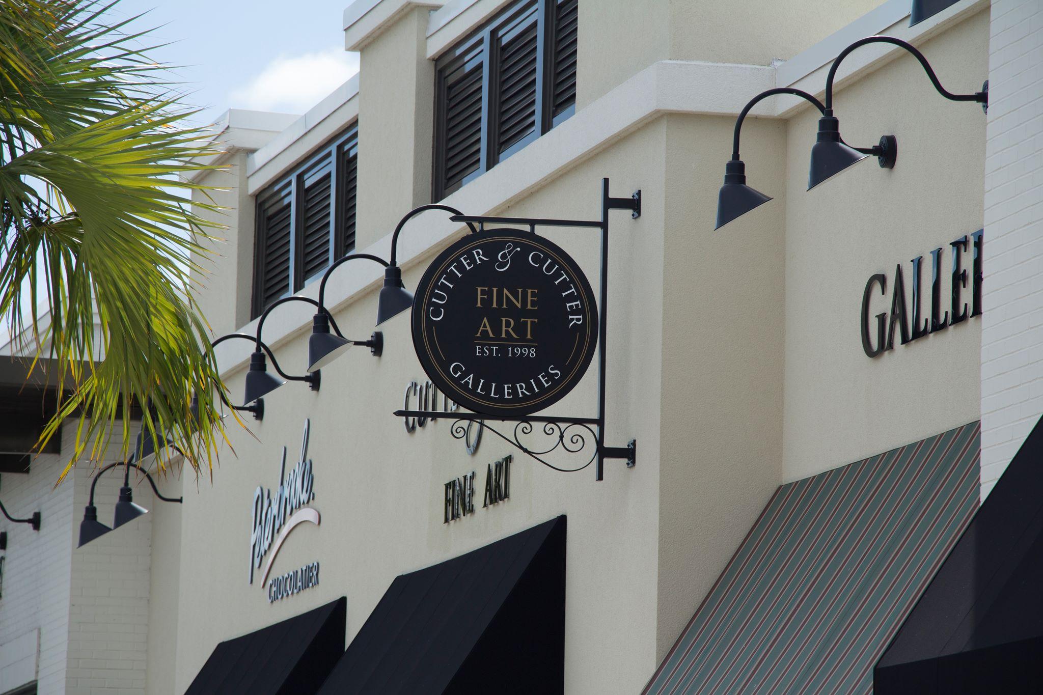 Cutter & Cutter Fine Art 25 King St. St. Augustine, FL 32084 Phone 904-810-0460