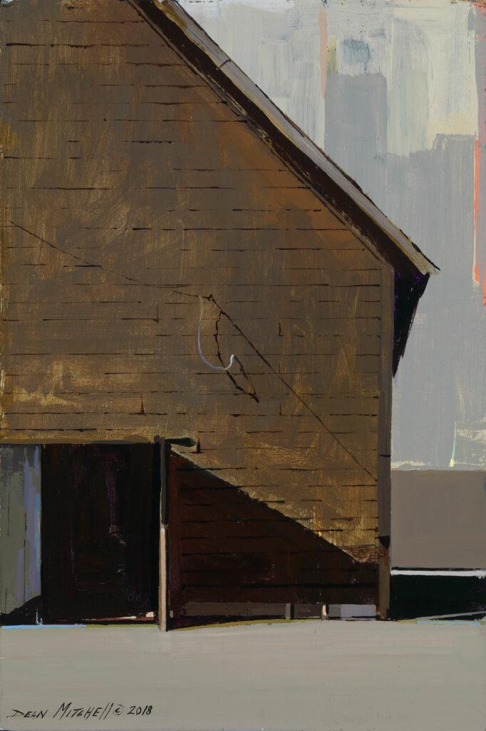 """Barn Door 15"""" x 10"""" acrylic"""