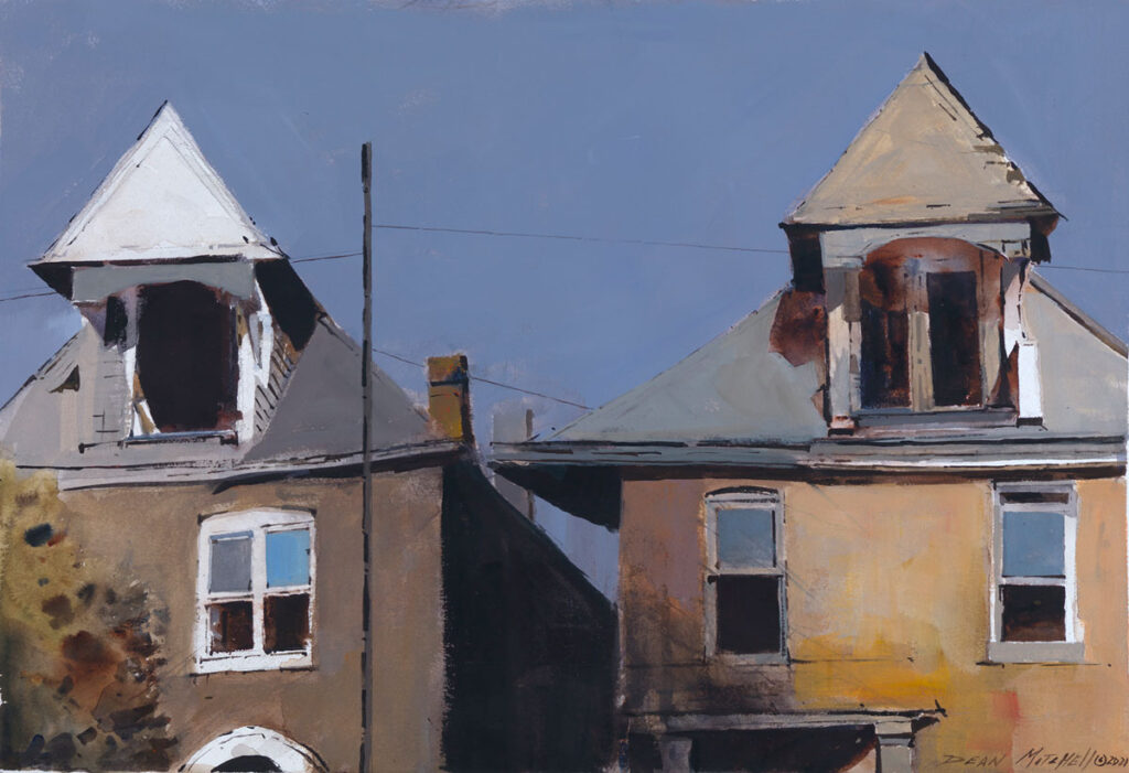 "Hurricane Alley 15"" x 22"" watercolor"