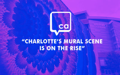 """Charlotte Agenda: """"The Definitive Guide to 60+ Charlotte Street Murals, Mapped"""""""