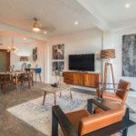 Unit 501 Living Room