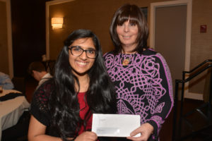 Claire Antonucci with winner of MJSS