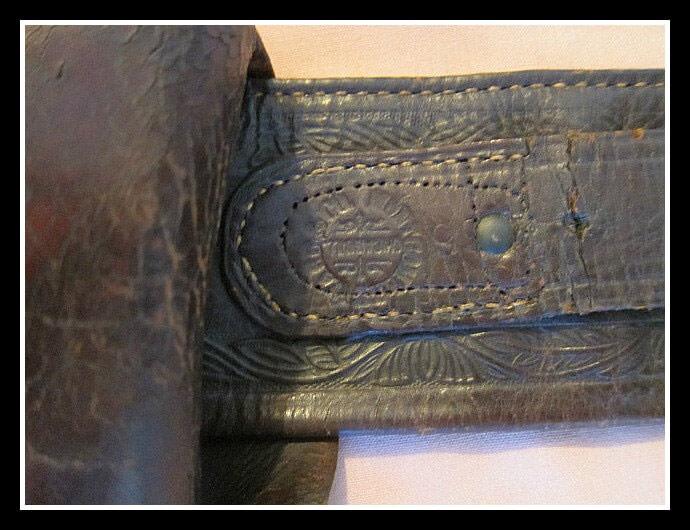 Montgomery Ward & Company marking on belt
