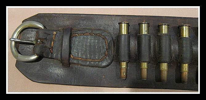 Rifle Cartridge Belt Buckle