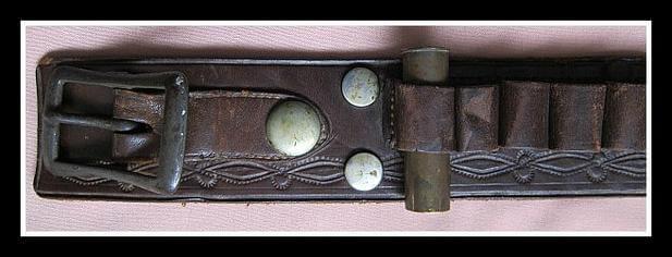 31 Loops for 16 gauge for this Shotgun Cartridge Belt