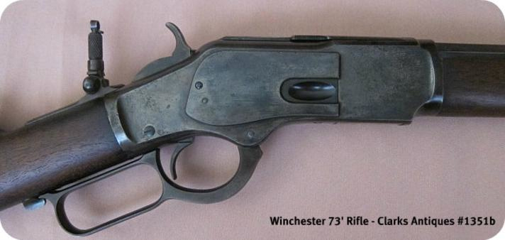 A Lyman folding leaf sight for this Winchester 1873 Rifle