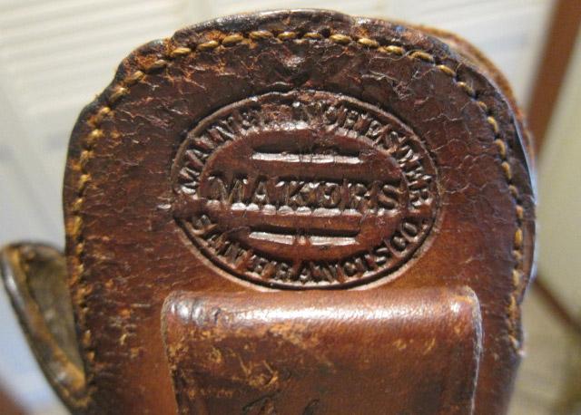 Slim Jim Holster Main & Winchester Makers Mark