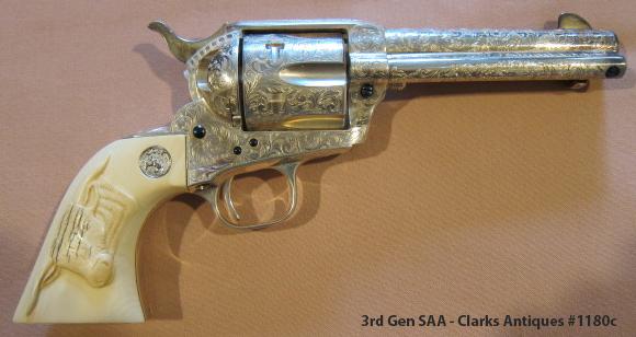 Colt SAA 3rd Gen - Full Factory Engraved
