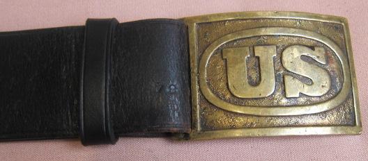 "Colt SAA 7-1/2"" Army Rig - US Plate"