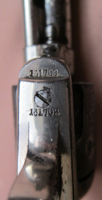 Colt SAA 45 4-3/4 Serial Number