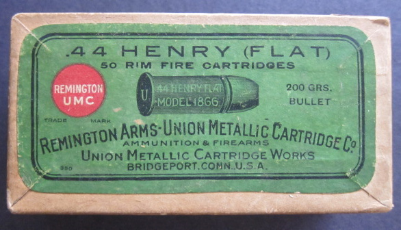 44 Henry Ammo Rimfire Flat Cartridges