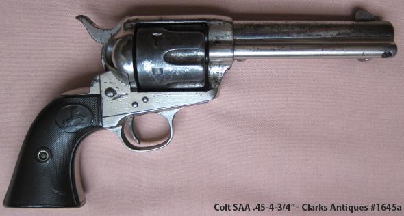 Colt SAA 45 4-3/4