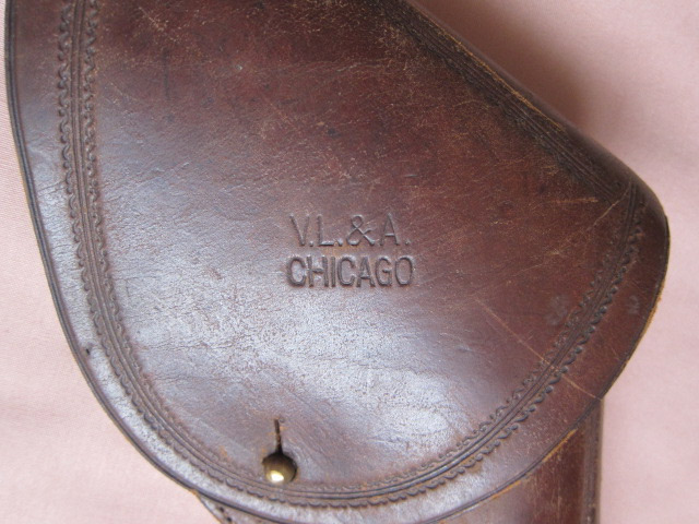 V.L.&A. Flap Holster makers mark