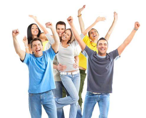 Happy Chiropractic Clients