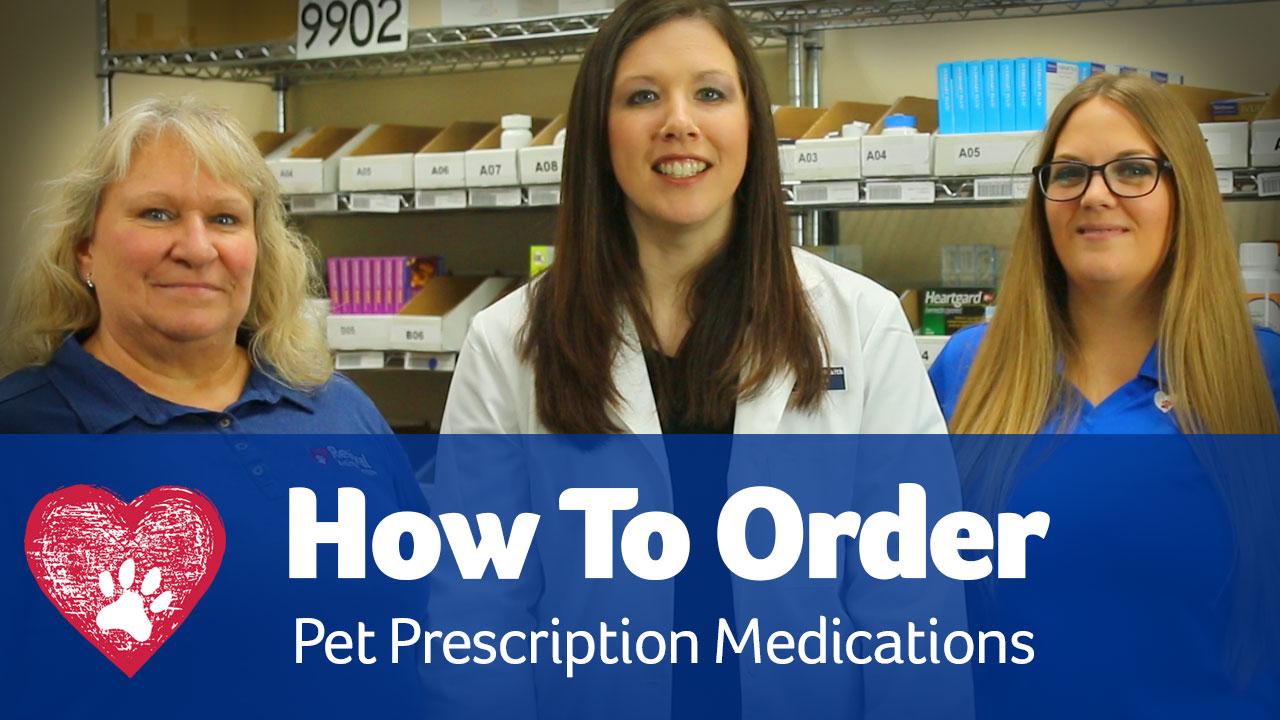 How to order pet prescriptions