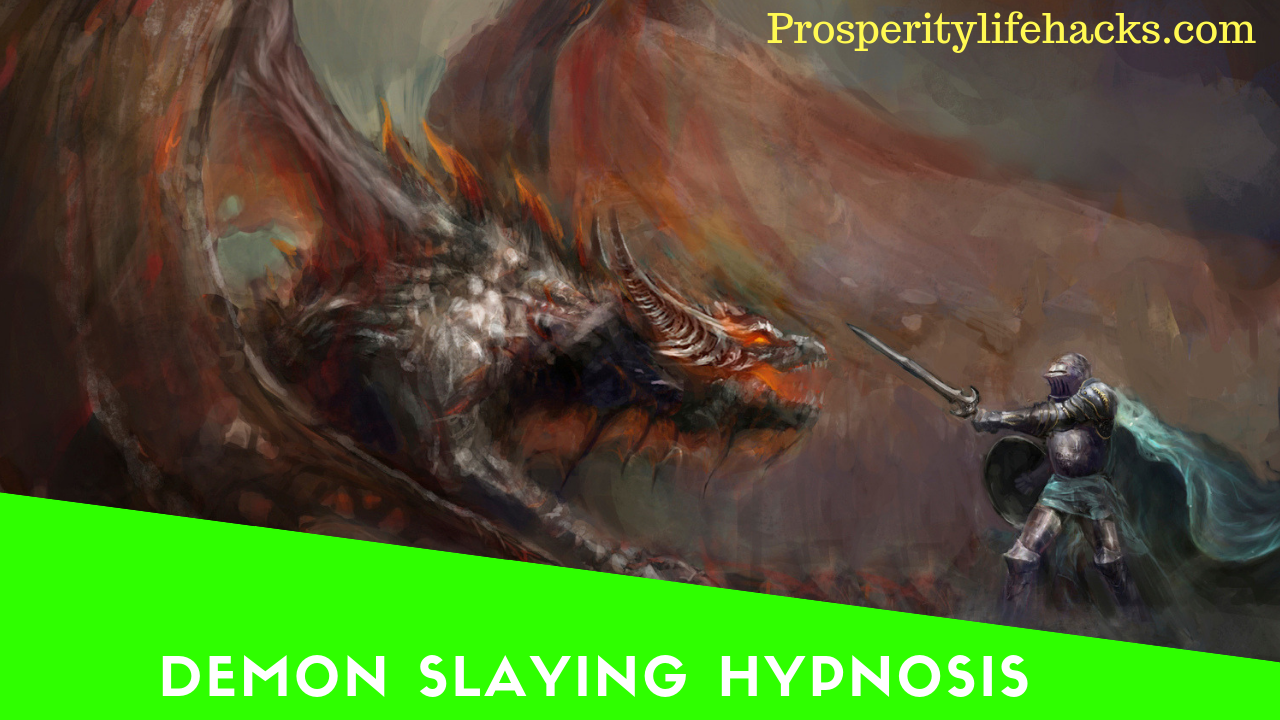 Demon Slaying Hypnosis - Face Your Fears - Generate Courage